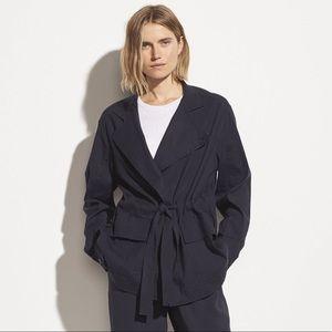 Vince. Drapey Linen Jacket size M